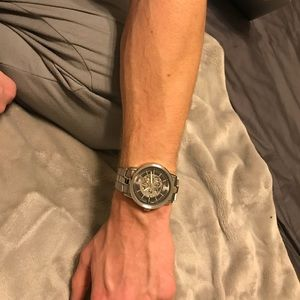 Kenneth Cole Stainless steel automatic gear watch